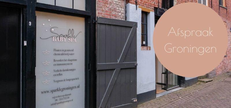Privé Baby Spa sessie boeken in Groningen