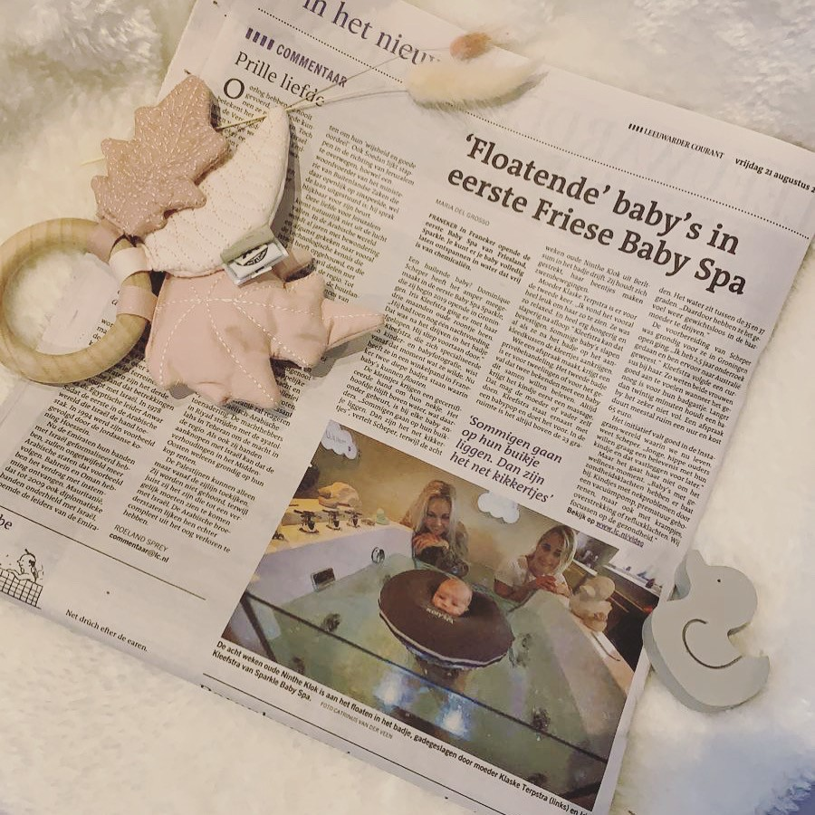 Baby Spa Friesland in Leeuwarder Courant