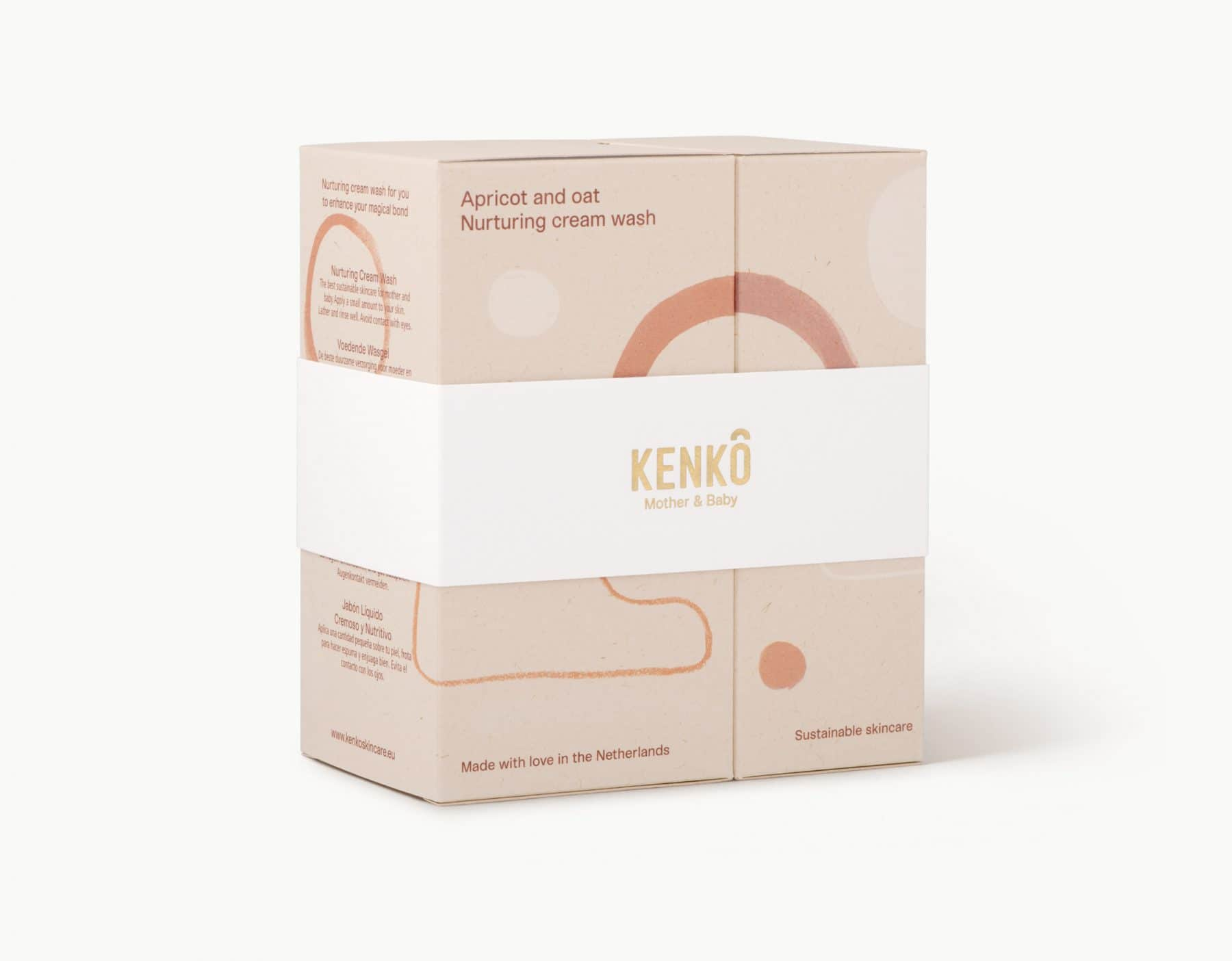 Kenko Skincare cream wasgel voor mama's